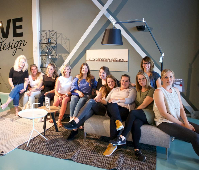 Een deel van ons leuke blogteam!