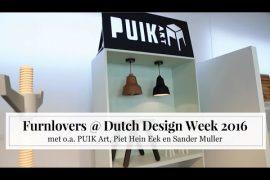 Furnlovers @ Dutch Design Week 2016 [MET VIDEO!]