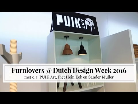 Furnlovers @ Dutch Design Week 2016 [MET VIDEO!]
