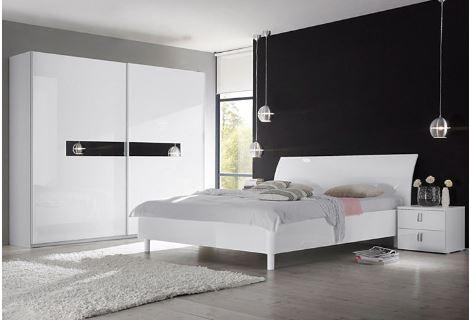 daarnaast geeft deze kledingkast een luxe uitstraling aan jouw slaapkamer door het gebruik van hoogglans materialen de kast past goed bij de uitstraling