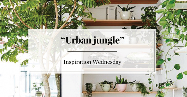 Inspiration Wednesday: urban jungle  Furnlovers.nl