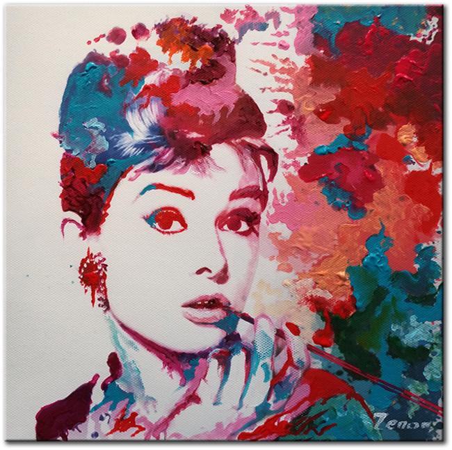 schilderij-audrey-hepburn