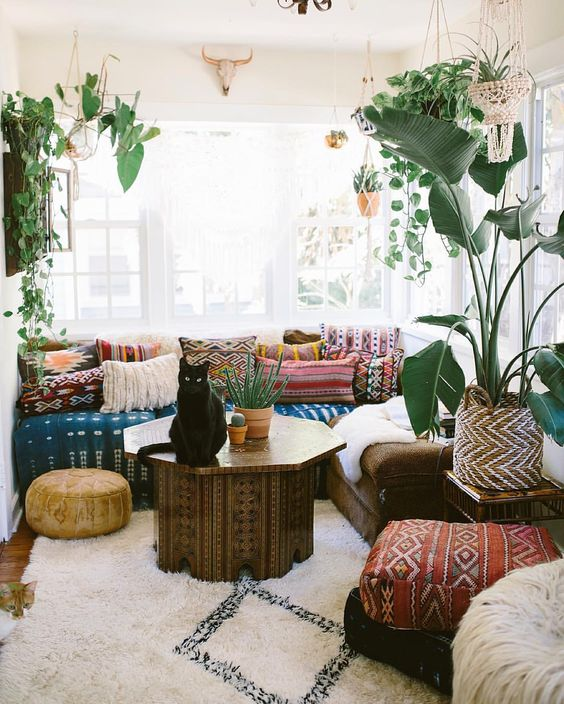 Inspiration Wednesday: bohemian interieur | Furnlovers.nl