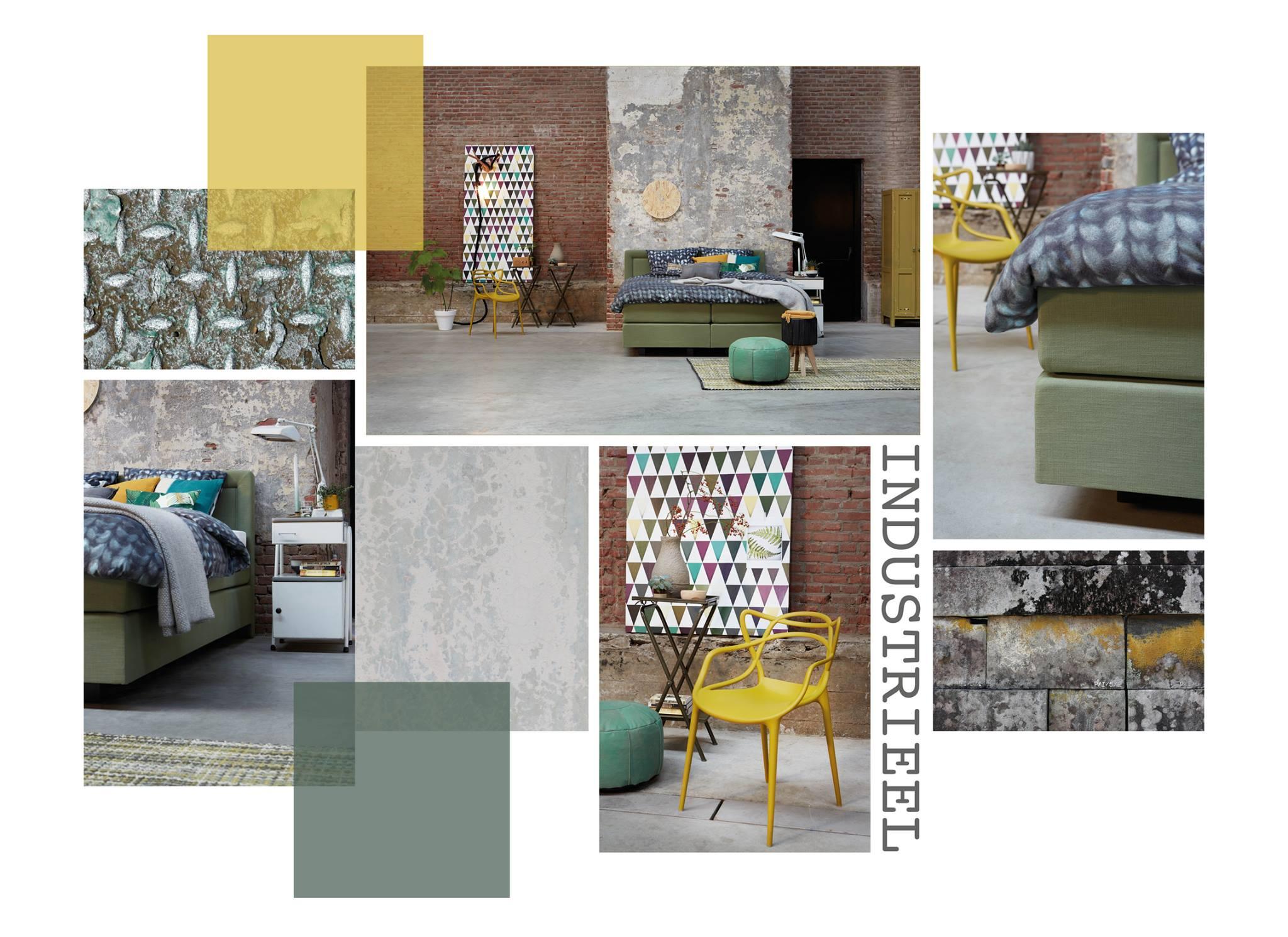 Slaapkamer Groen Wit : De industriële stijl in de slaapkamer furnlovers