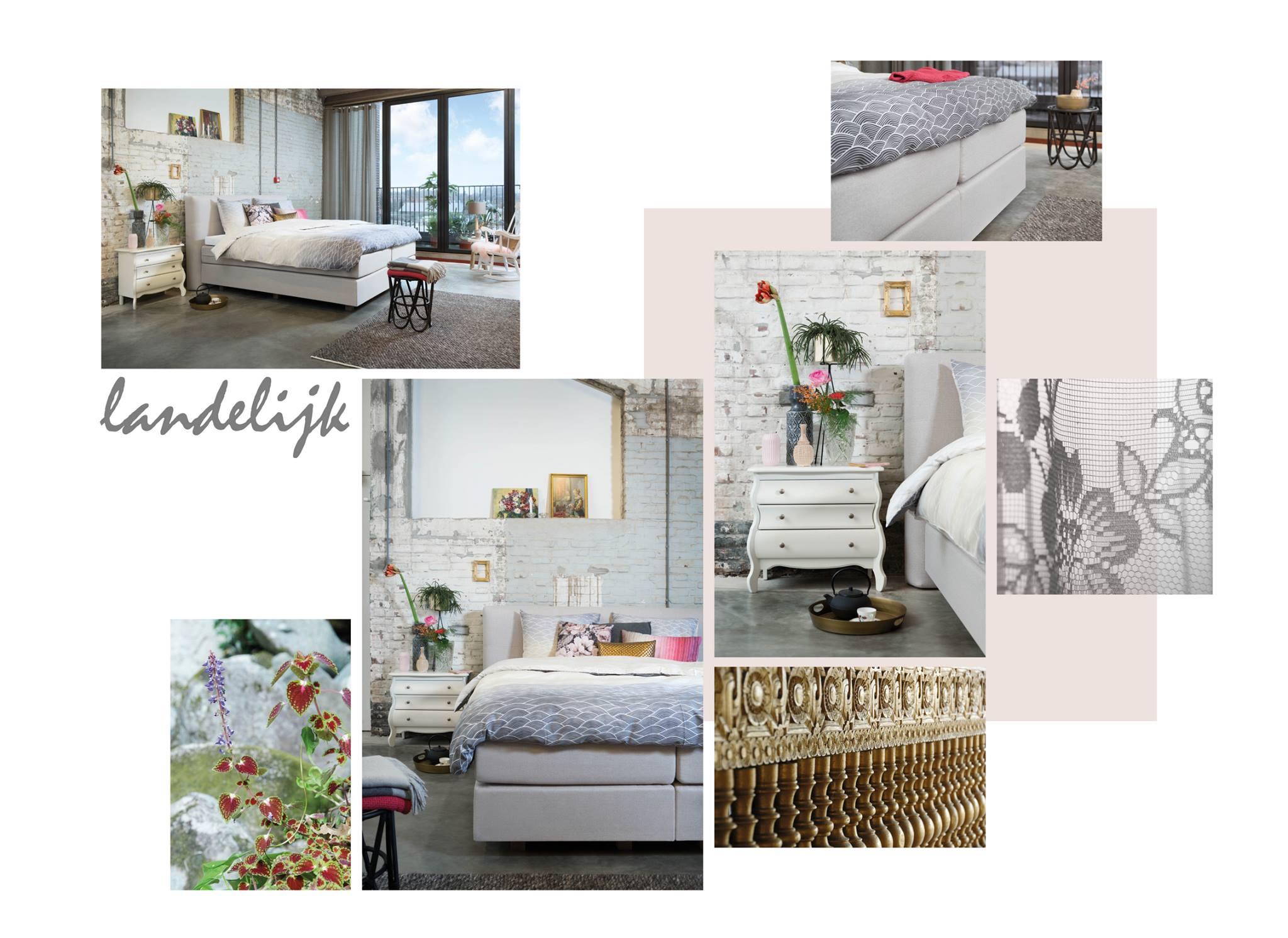 Landelijke stijl in de slaapkamer | Furnlovers.nl