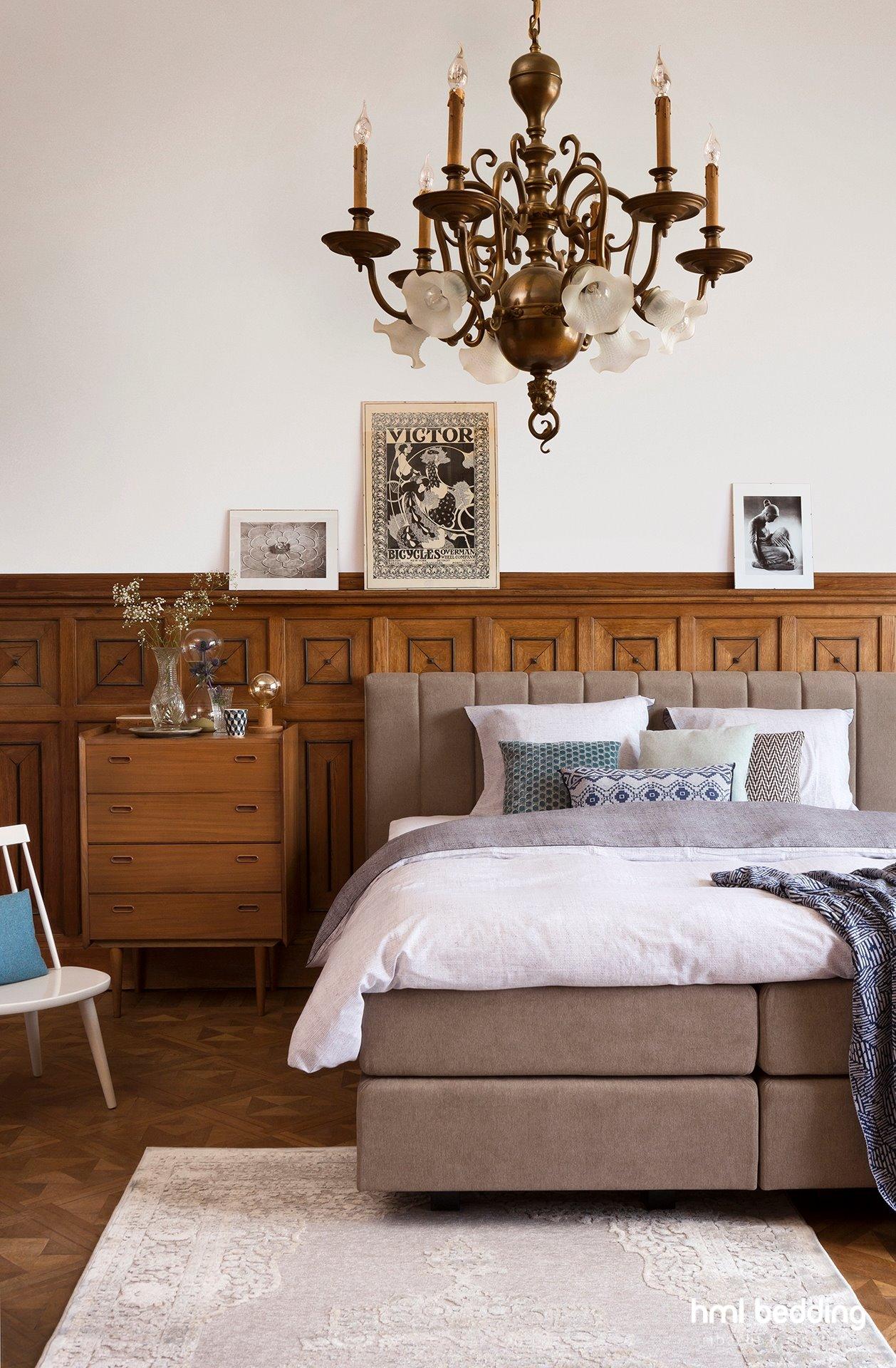 Klassieke stijl in de slaapkamer - Eigentijdse stijl slaapkamer ...