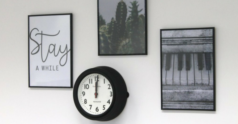Office makeover part 3: wanddecoratie furnlovers.nl