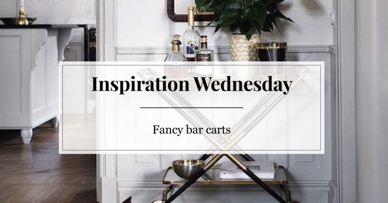 fancy bar carts
