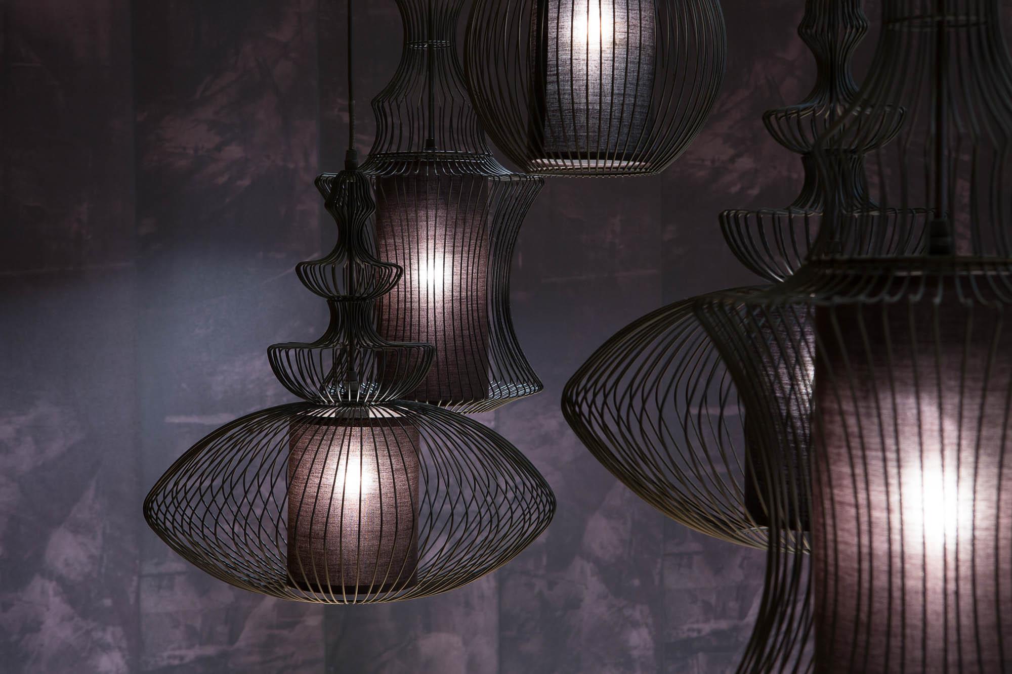 hanglamp ovaal met 1 lichtpunt