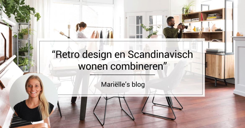 Welp Retro design en Scandinavisch wonen combineren   Furnlovers.nl UG-53