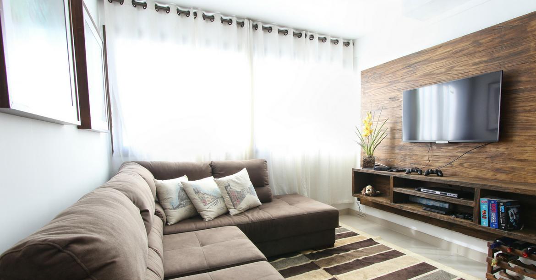 Welp Hoe richt je een woonkamer in met een (grote) televisie IW-84